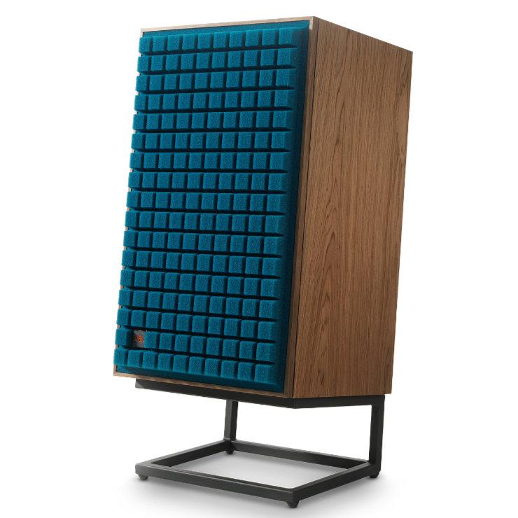 jbl l100 classic sininen ja jalka