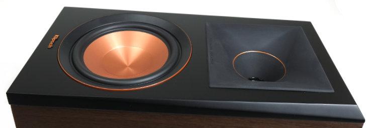 klipsch rp-600m basso diskantti tractrix-torvi 9586